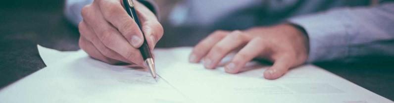 Firma como NO CONFORME la carta de despido