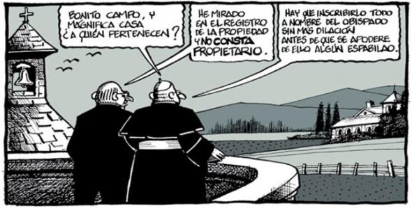 El saqueo de la Iglesia Católica a las arcas del Estado.