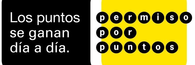 El permiso por puntos Español
