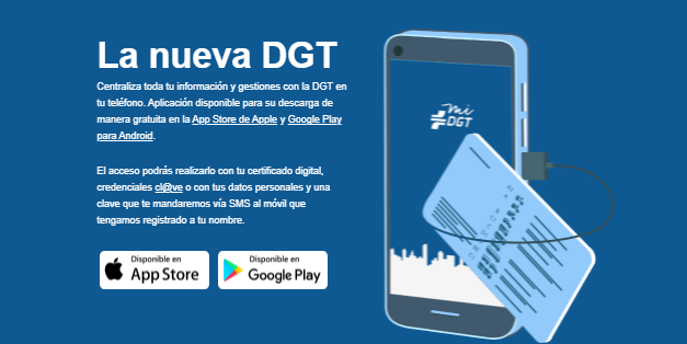 La nueva app de la DGT