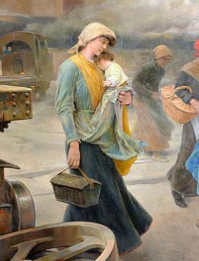 Industrializazioko emakume langilea batek bere lan baldintzei buruz idazten du
