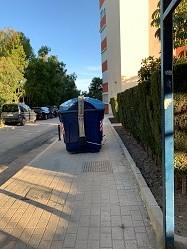Vuelve el contenedor a la Calle Paraíso del Sol