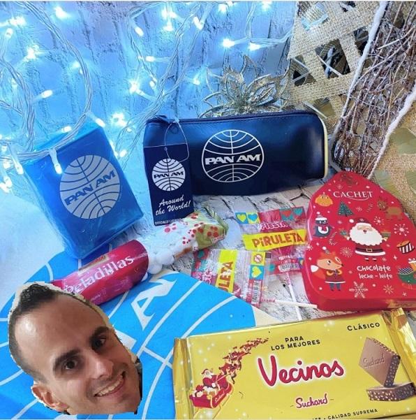 Pimoadri gana la cesta de Navidad del sorteo de Terminal T5