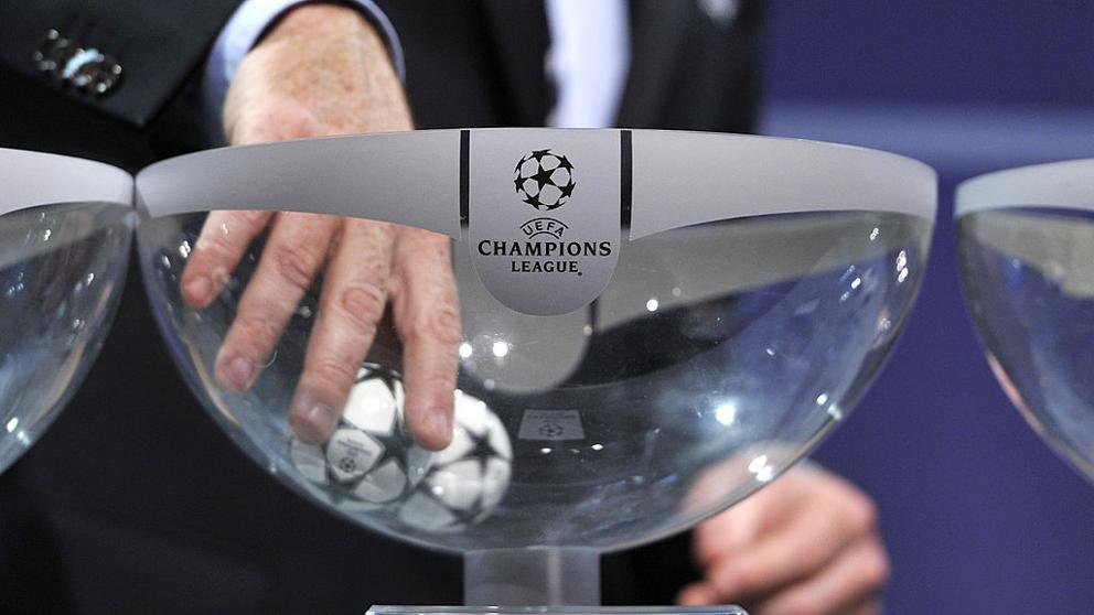 Así quedan los bombos del sorteo de la Champions League