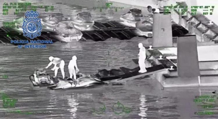 Golpe de Policía Nacional y Local en Marbella al tráfico de hachís en motos de agua