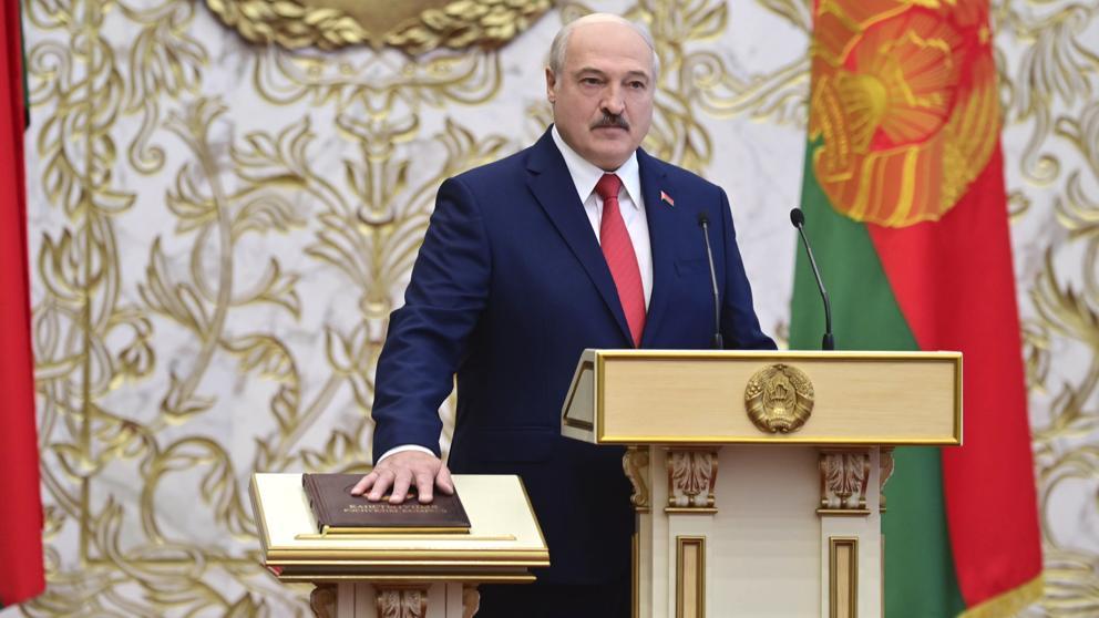 Canadá y el Reino Unido imponen sanciones a Lukashenko