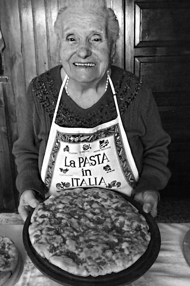 """La """"nonna"""" Violetta"""