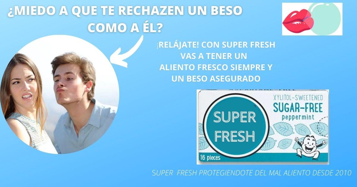 CHICLE SUPER FRESH
