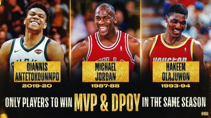 Antetokounmpo, es el jugador más valioso de la NBA por segundo año