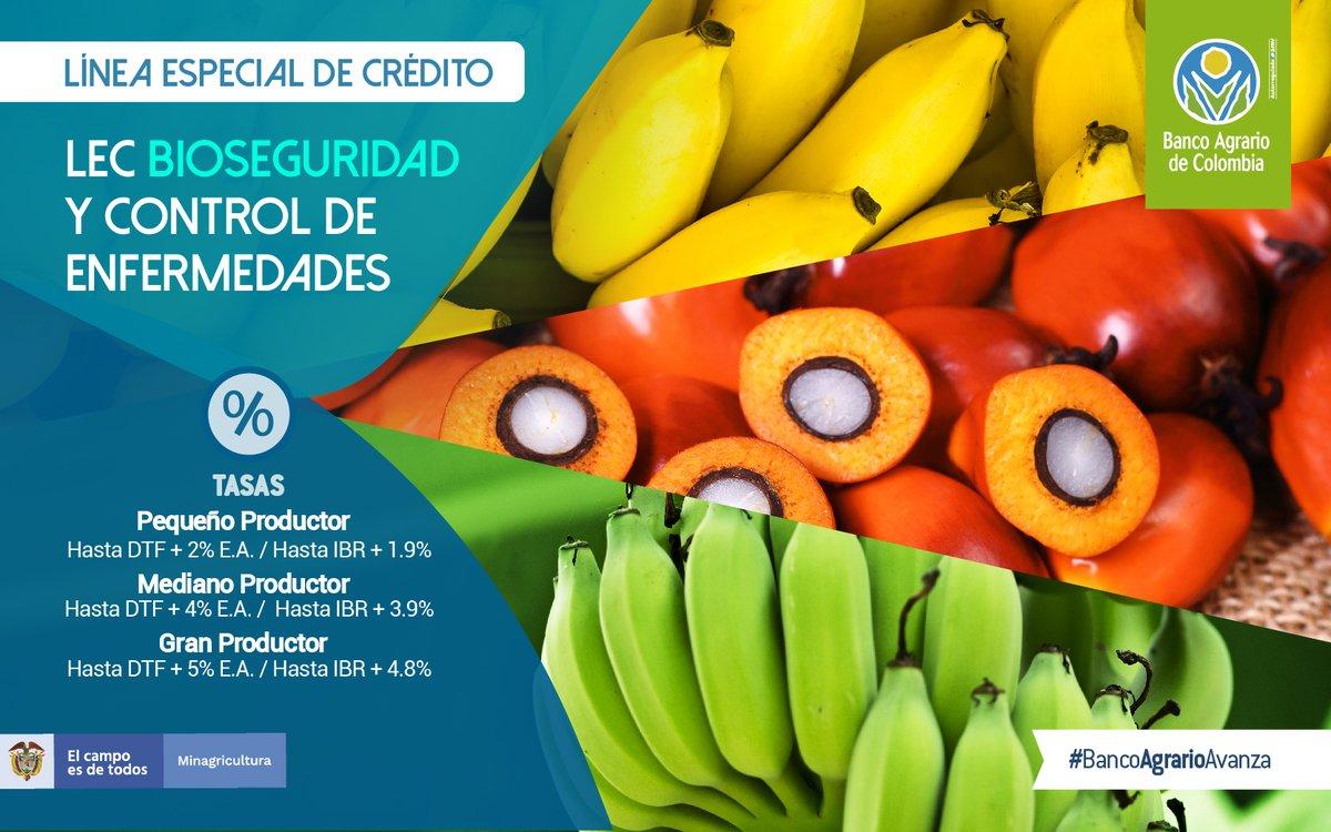 Línea Especial de Crédito LEC - Bioseguridad y Control de Enfermedades