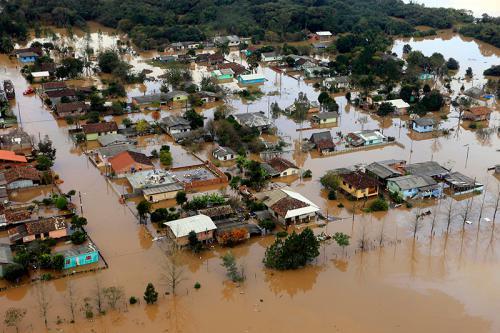 Desborde del rio Parana
