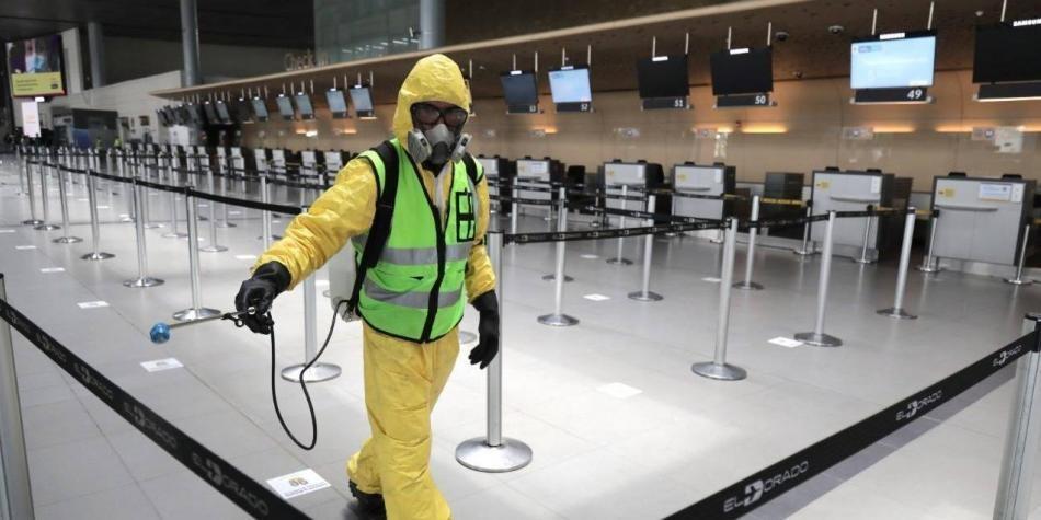 Reapertura de aeropuertos en Colombia