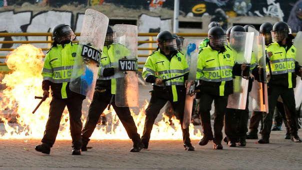 Policía no portará armas de fuego en las próximas manifestaciones convocadas