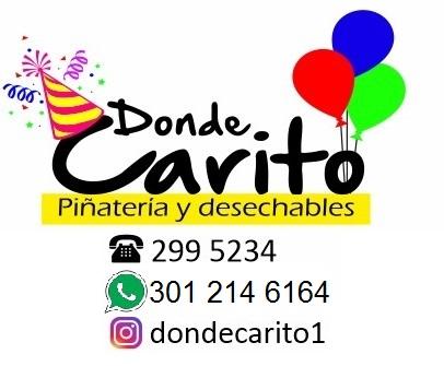 Donde Carito, Piñatería y desechables.