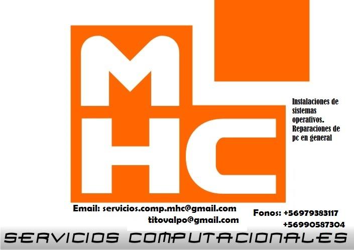 Servicios Computacionales MHC  valparaiso