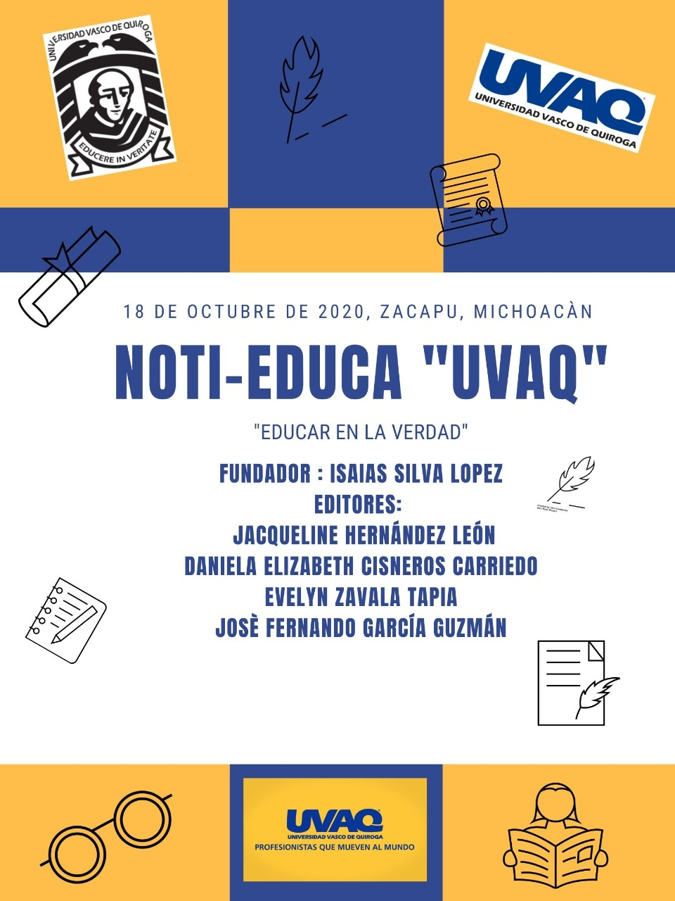 PERIÓDICO GRUPAL NOTI-EDUCA UVAQ