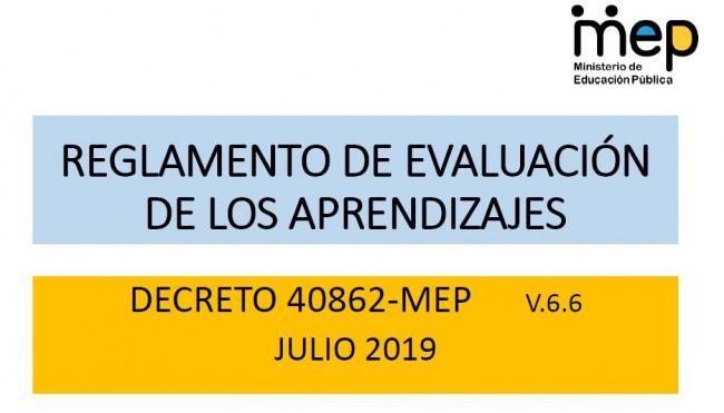 Gobierno firma nuevo Decreto sobre Reglamento de Evaluación de los Aprendizajes