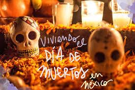 Día de muertos en México.