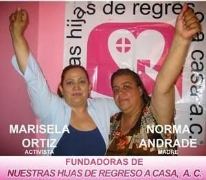 PRINCIPALES FUNDADORAS: Marisela Ortiz (maestra de Lilia Alejandra)   Norma Andrade (madre de Lilia Alejandra)