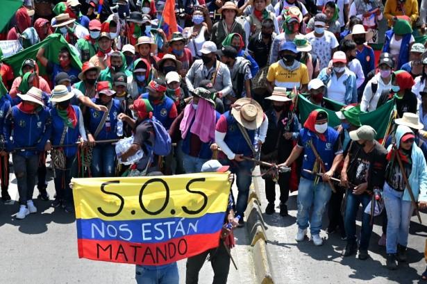 Movilización Minga Indigena