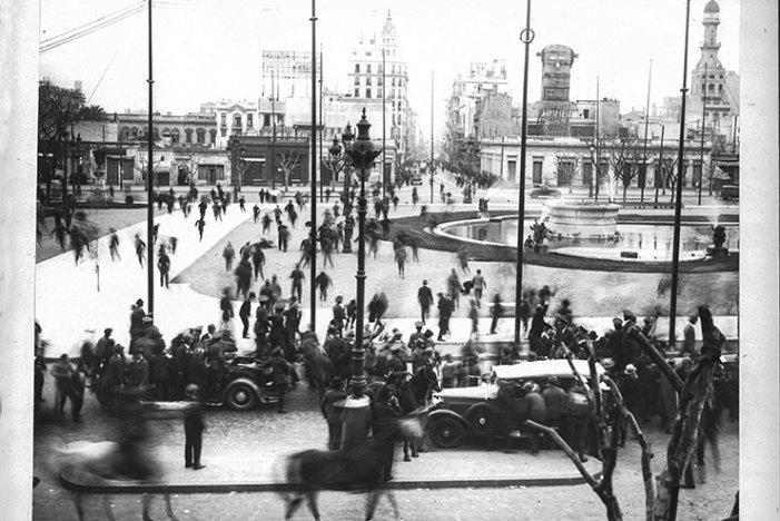 El golpe de estado de 1930, Argentina se cansó del gobierno de Yrigoyen.