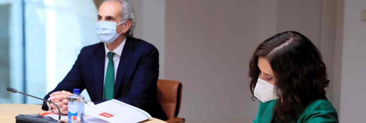 La Comunidad de Madrid estudia pedir al Gobierno central que decrete el toque de queda para frenar la pandemia.