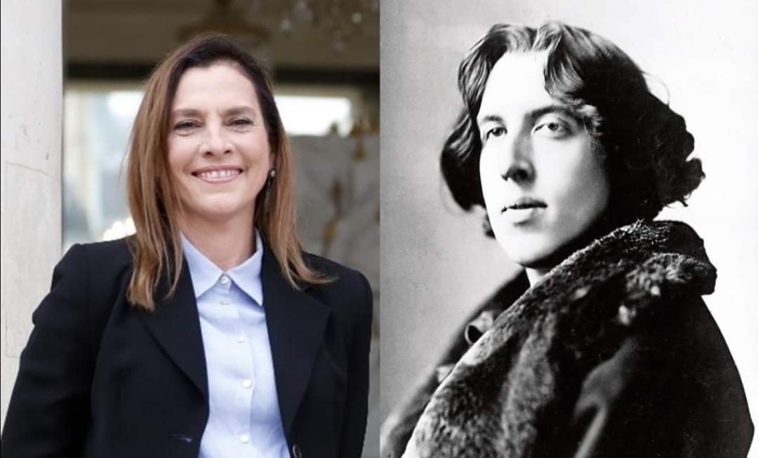 Gutiérrez Müller le cambia la nacionalidad a Oscar Wilde.