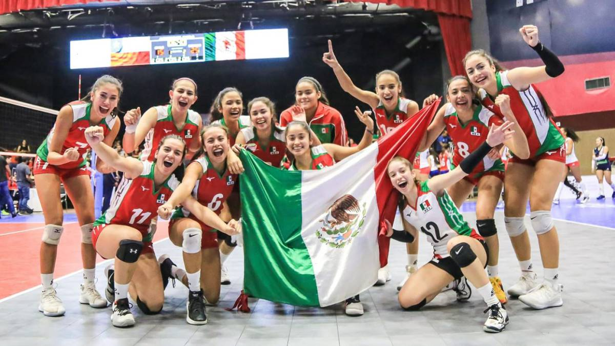 México clasifica al Mundial de Voleibol femenil
