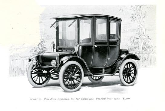 El origen del coche eléctrico