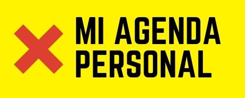 Crea tú agenda Personal