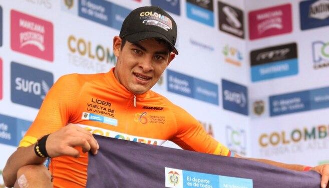 Diego Camargo es el campeón de la Vuelta de la Juventud 202