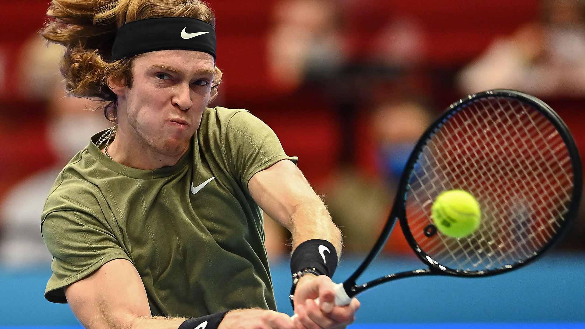 Andrey Rublev, séptimo clasificado para las ATP Finals de Londres