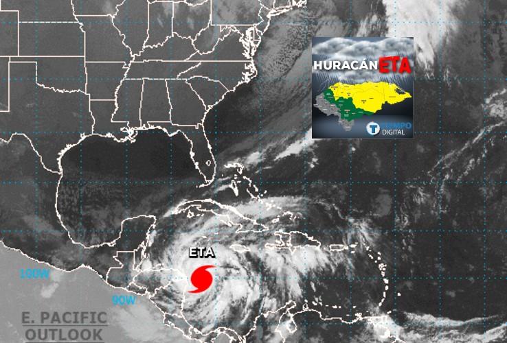 """El """"extremadamente peligroso"""" huracán Eta toca tierra en Nicaragua"""