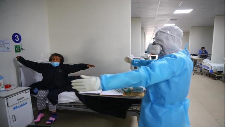 Coronavirus en Perú: Hay 822.316 de alta y  900.180 nuevos casos.Sorprendente