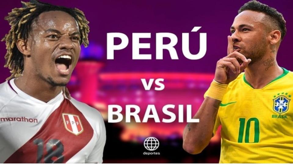 La selección peruana no pudo contra Brasil y sufrió una dura derrota.