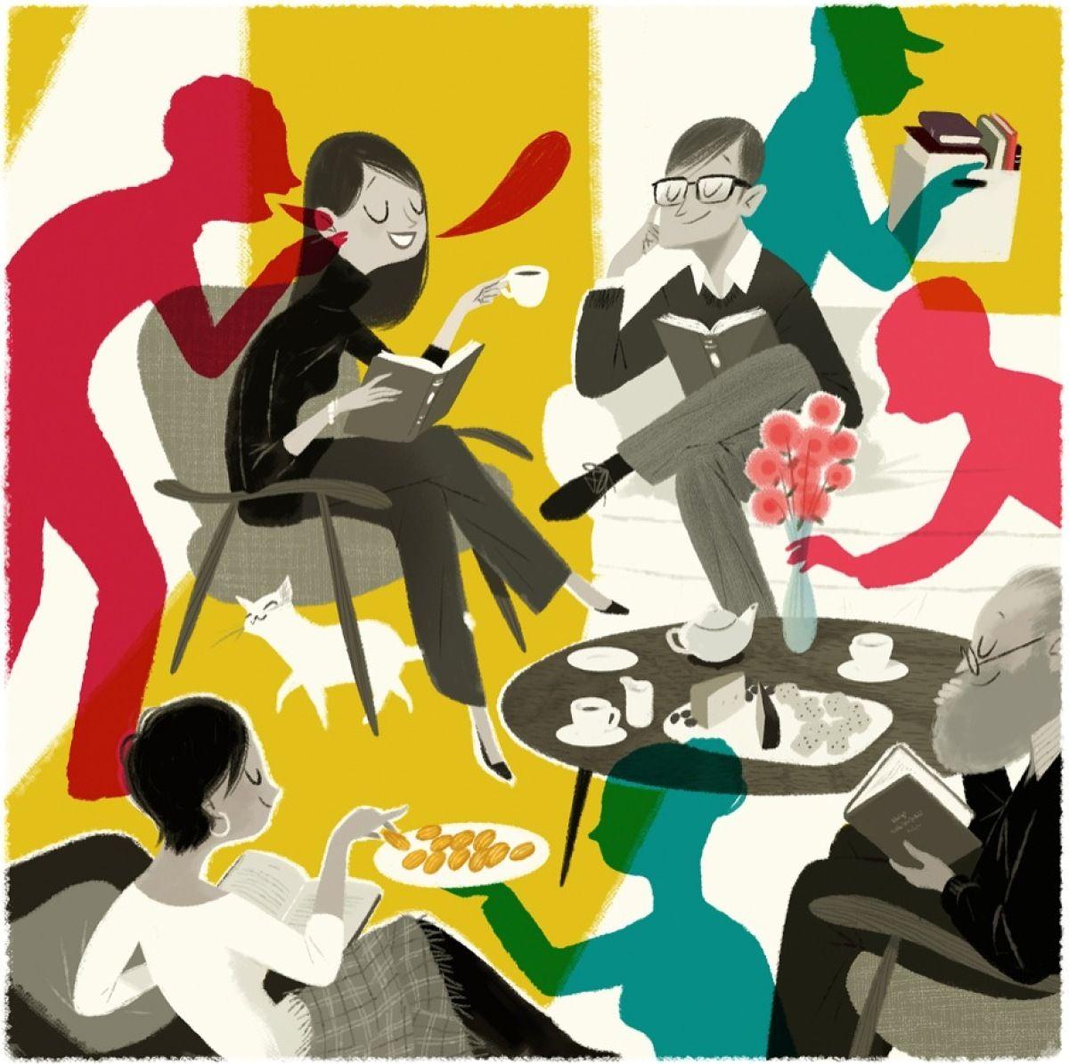 Tertulia literaria nacional: Boom Latinoamericano