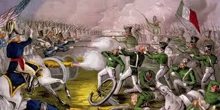 Guerra con Estados Unidos.
