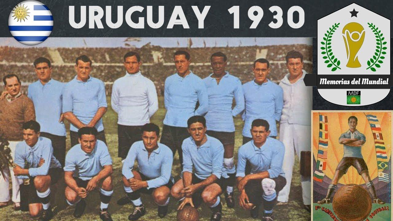 URUGUAY GANA EL PRIMER MUNDIAL DE FÚTBOL