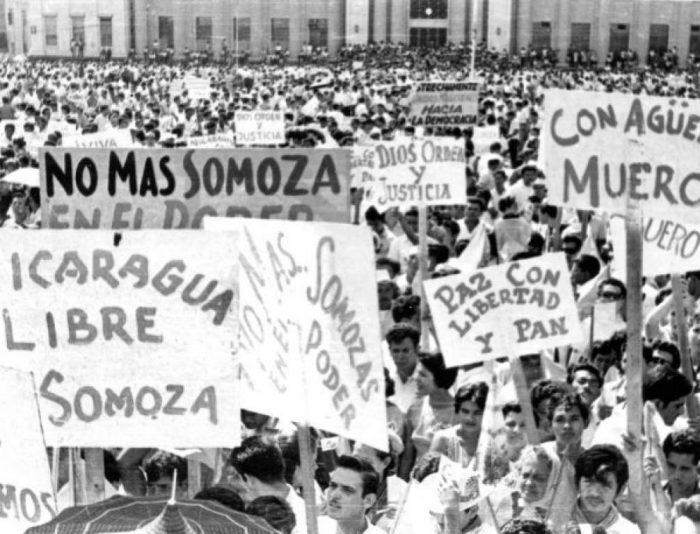 Derrota de la dictadura Somocista.