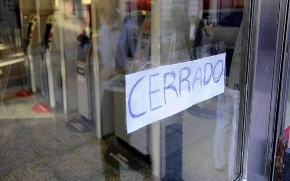 Cierre de comercios en Tabasco