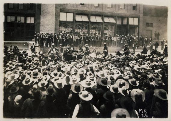 protestas contra Porfirio Diaz