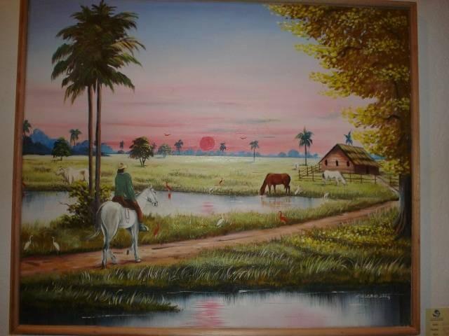 1.ª muestra de pintores del municipio Bolívar, estado Barinas.