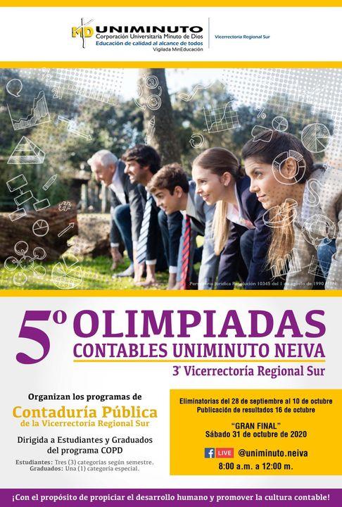 5° OLIMPIADAS CONTABLES