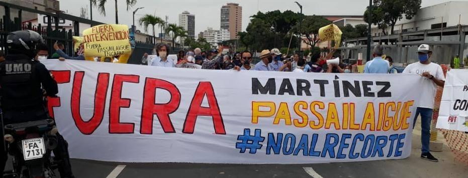 Universidad estatal de Guayaquil empezará clases este 1 de julio con menos docentes; hay quejas y preocupación por estos procesos