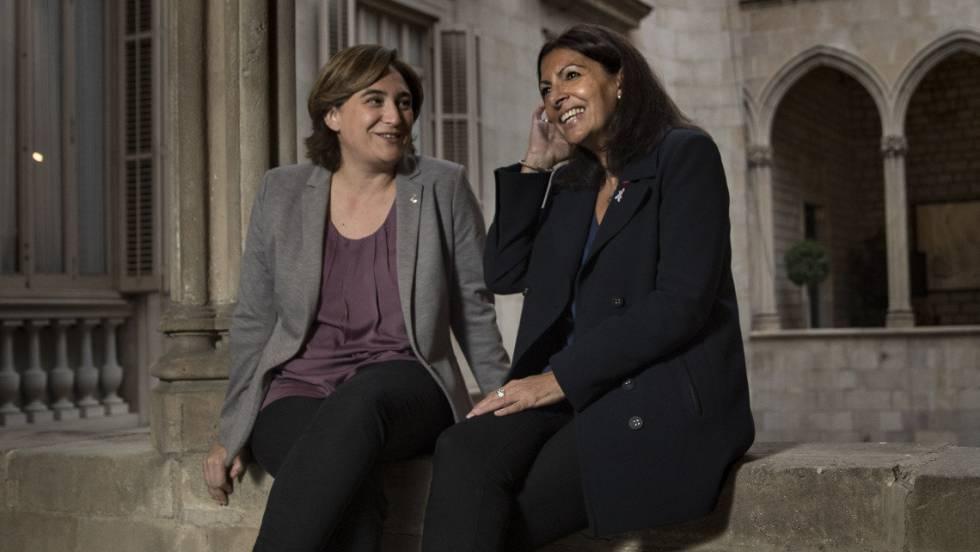 Conversaciones entre Ada Colau y Anne Hidalgo