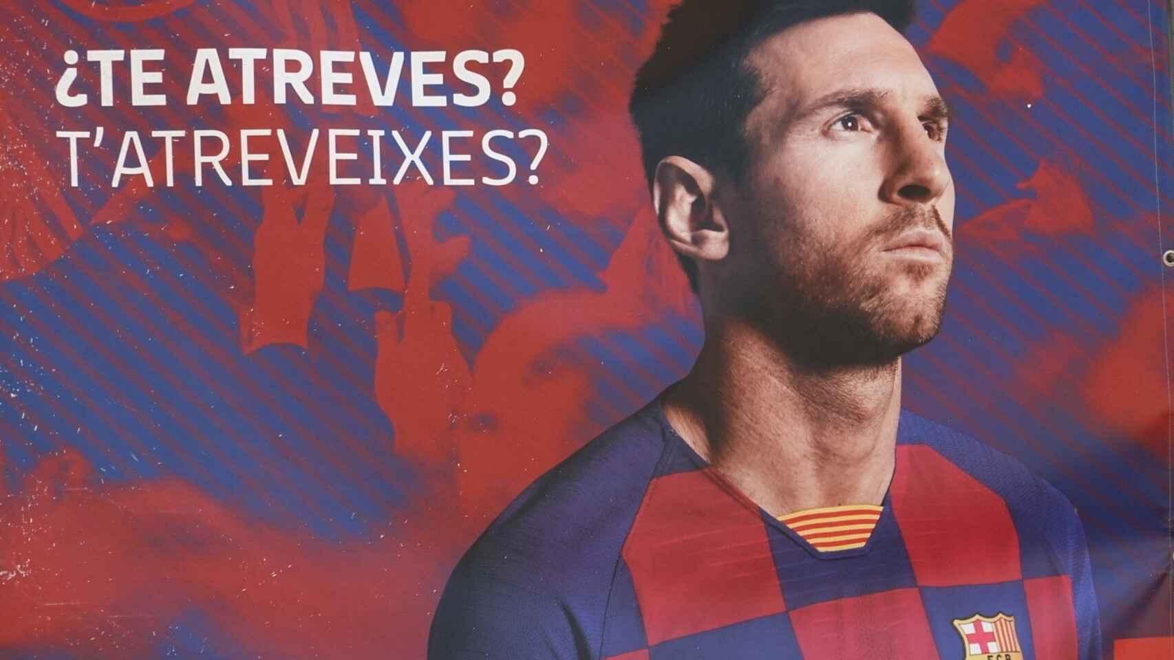 Messi fuera del barcelona