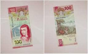 Sor Juana, la primera feminista en México que aparece en el nuevo billete de 100 pesos.
