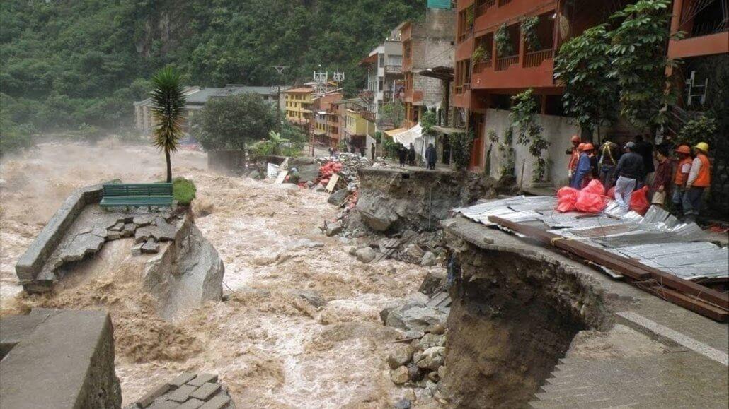 Destructivo huaico ocurre en Huancayo