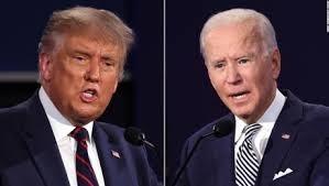 Trump y Biden olvidan su objetivo de la política y empiezan una gran pelea