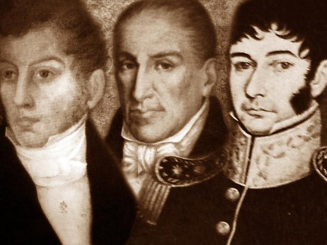 Imperio de Agustín de Iturbide y el primer gobierno del Triunvirato.